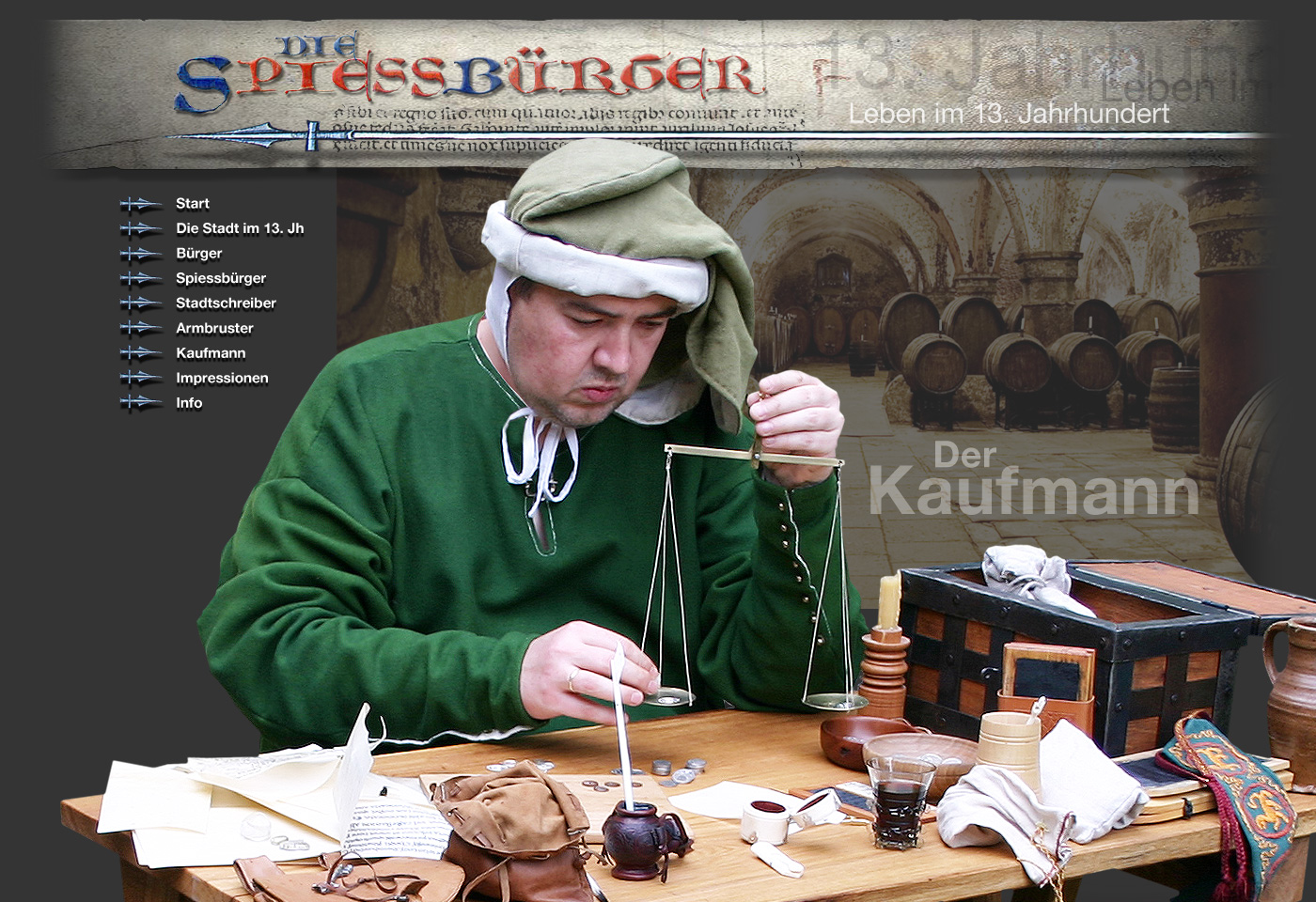 Kaufmann Mittelalter